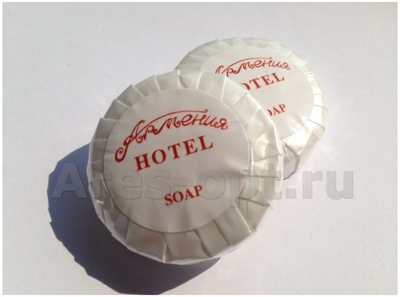 мыло для гостиниц одноразовое