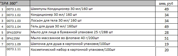 spa 360 price